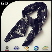 GDA0062 Hot sale Chinese silk scarf,digital print custom design silk scarf,scarf silk scarf