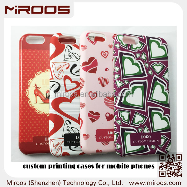Miroos new arrival products PC TPU cell phone case for iphone 6 , custom phone case for iphone 6 case with water tansfer print