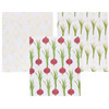 100% cotton plain white cotton tea towels printing