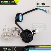 Noble design Mini M3 LED COB Motorcycle front Light Lamp