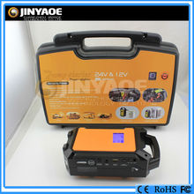 2015 New promoting 36000mah car jump starting units for heavy truck 24 volt battery packs