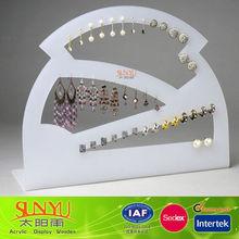 Acrylic Backboard And Baseboard Display Stand For Pendant