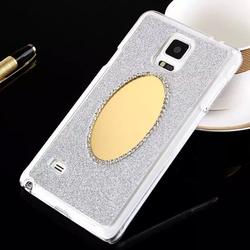 Skin For Samsung Galaxy Note 4 Cellphone Glitter Diamond Mirror Case