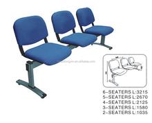 Durable public 3-seater waiting chair