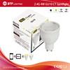 2.4g Mi light wifi bulb AC85-265V led spotlight 4w led spotlight lamp led gu10 bulb