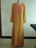 Hot sales new fashion chiffon plus size baju kurung