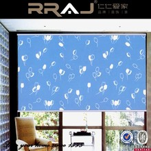 Plastic cover 100% Polyester Bathroom curtain