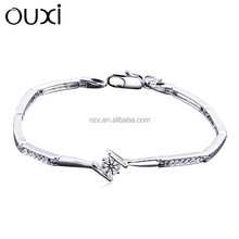 OUXI new arrival charm zircon bracelet jewelry made with Swarovski Elements 30290-1