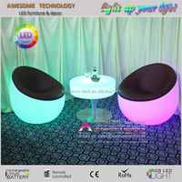 lounge furniture modern portable round plastic lounge chair