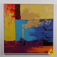 Abstract European oil painting