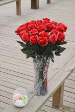 Energy saving dried rose flower bouquet