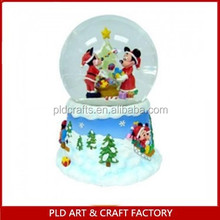 Mickey Mouse Snow Globe/Customized kids mickey snow globes