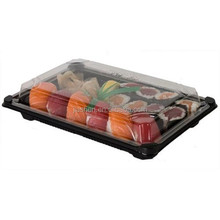 Eco-Products Plastic Sushi Tray Container Combo Pack
