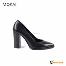 Mk137-7-black las mujeres alta calidad mujeres zapatos de vestir