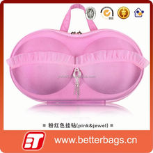 2015 woman storage box wholesale bra carry bag