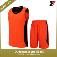 2015 Wholesale cheap blank training practice mesh basketball jersey