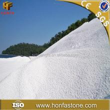 China 20 años surtidor venta al por mayor uso blanco puro polvo de mármol