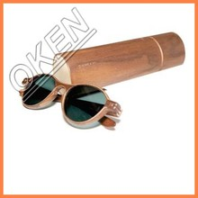 2015 sell well Green Initiative palorized floating wood eyewear