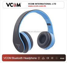 2015 VCOM Hot Sale Folding Wireless Bluetooth Stereo Headset Cheap Bluetooth Headphone