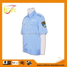 Mejor venta alta calidad venta al por mayor azul para mujer uniforme de guardia de seguridad