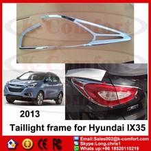 KCOMFORT chrome car auto accessory Rear taillight Cover taillight lamp Cover Exterior Accessories For hyundai ix35 body kit 2013