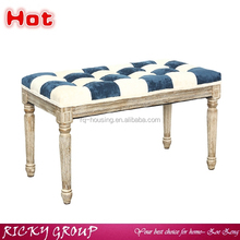 Hot Sale modern style natural wood classic dining bench chair/weight bench dimensions