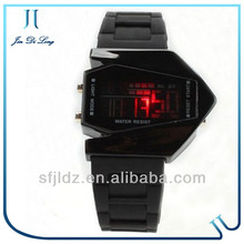 Mirror Face with Digital Display and Silicone Strap concept watch