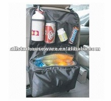 Waterproof polyester car back seat organizer with pockets
