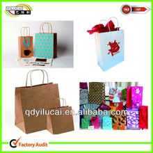 Ecofriendly Custom Logo Shirt Paper Packaging Bag