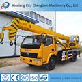 Dongfeng marca cilindro hidráulico captador caminhão guindaste caminhão com guindaste 10 ton
