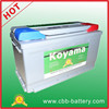 2015 Hot Sell 88ah 12V starting battery car battery DIN88