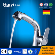 High quality wash hand basin tap deck mount basin pull out tap brass wash basin tap models HY-54405
