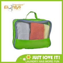 mesh portable travel tote toiletries laundry shoe pouch travel bag