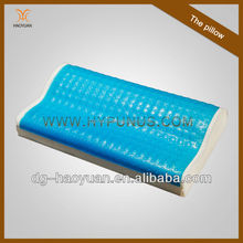 Hot sale soft comfortable sleep gel memory foam pillow