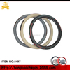 top quality pu +carbon car steering wheel cover for car accessories
