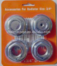 """De calefacción para el hogar de hierro fundido del radiador de accesorios set 4 en kit 1 1/2"""" x 1 1/4"""""""