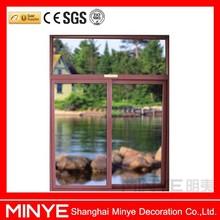 China design aluminum window with sliding open type windows