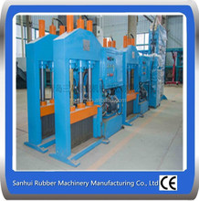 Vertical Rubber sheet Cutting Machine