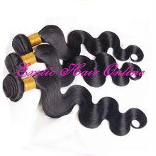 """Exotichair brazilian hair 22"""" hair weave in bulk"""