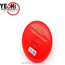 Hot sale round metal tin CD case for CD or Dvd packing