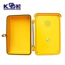 Security telephone one push button KNSP-04 outdoor IP66