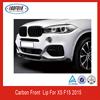 CARBON FIBER FRONT BUMPER LIP FOR BMW X5 F15 2015