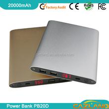 PB20D 20000mah Universal portable external battery universal emergency