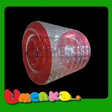 2015 inflatable water poll roller giant colorful inflatable roller/water park use