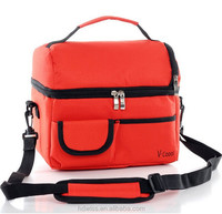 Portable Shoulder Lunch Picnic Bag Insulated Cooler Ice Bag Lunch Box For Food Warmer Camping Kit Hand Lunch Pouch