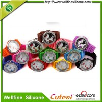 promotion gift custom design silicone fancy digital watches