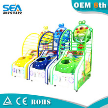 HM-L02-A Haimao 2015 kids Indoor arcade hoops cabinet basketball game from America