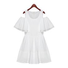 Lu Lu summer with new models princess temperament big skirt big yards chiffon dress 6689