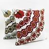 New design Vogue Vintage Embroidery Decorative Fancy Cushion Cover Cotton Canvas Wholesale Throw Pillow Case HT-CCWEC-B-24-25