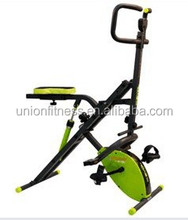 mini bike/with MAGNETIC bike abdominal crunch machine power crunch